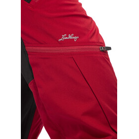 Lundhags Makke - Pantalon long Homme - Regular rouge/noir